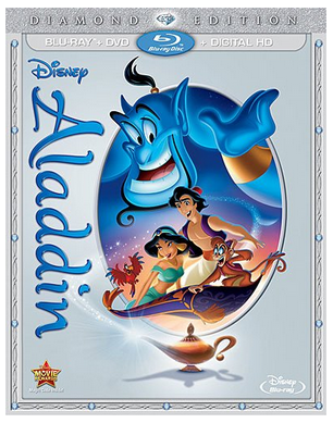 The Aladdin Diamond Edition is being released on October 13th!! The bonus features on this DVD are amazing!