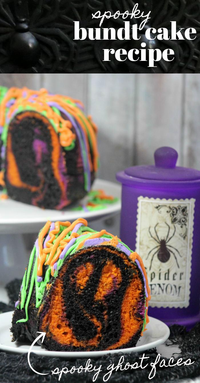Halloween Spooky Bundt Cake Recipe