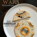STAR WARS: THE FORCE AWAKENS BB-8 Droid Quesadillas