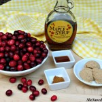 Maple Vanilla Cranberry Sauce Recipe