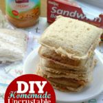DIY Homemade Uncrustable Sandwiches