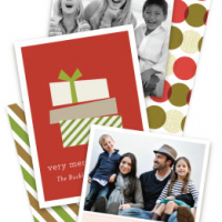 Minted.com for Holiday Cards: $25 Off $100 (new customers)