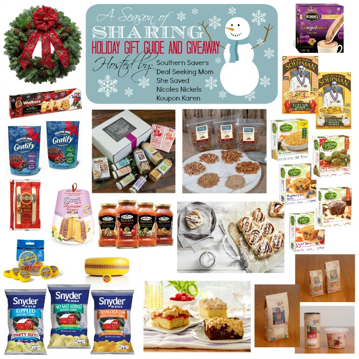 Enter the Season of Sharing Giveaway to enter ALL of the prizes shown here!