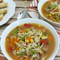 Thanksgiving Leftover Ideas: 30-Minute Turkey Vegetable Soup