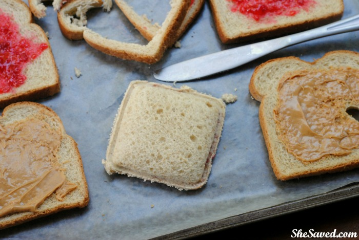 Easy and delicious, these DIY Uncrustable Sandwiches will be a hit with the kids!