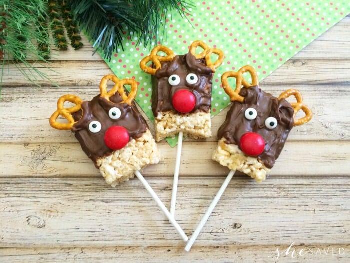 Rice Krispie Treat Reindeer Recipe