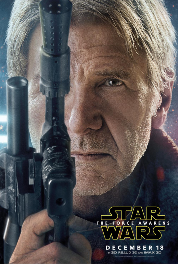 STAR WARS: THE FORCE AWAKENS hits the big screen on December 18th with Harrison Ford as Han Solo