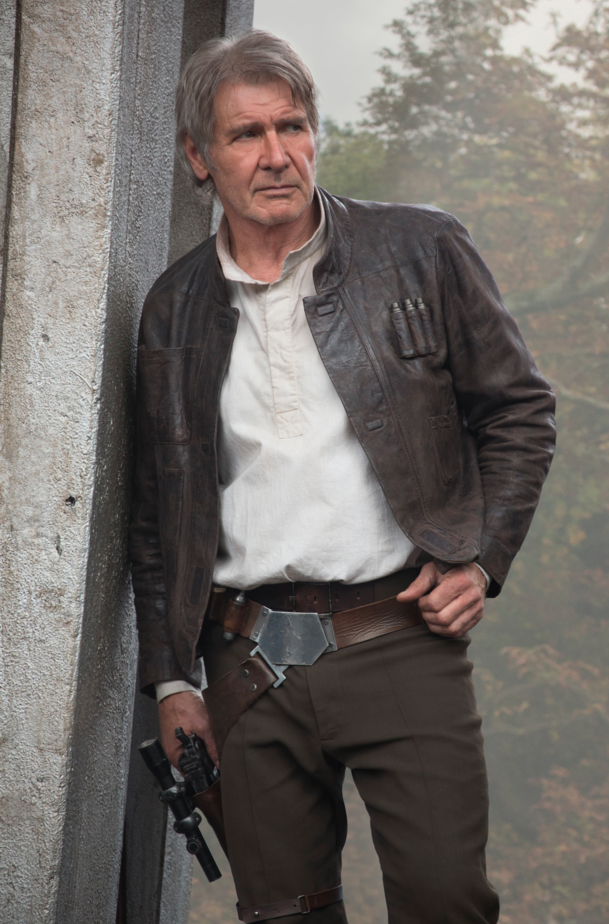 Harrison Ford AKA Han Solo returns in STAR WARS: THE FORCE AWAKENS which hits theaters December 18th!