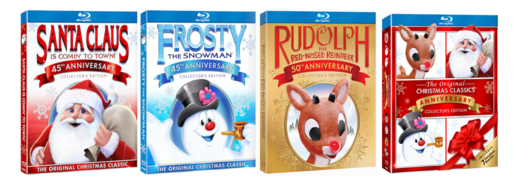 The Original Christmas Classics Anniversary Collector's Edition Gift Set (Includes 7 Movies!)