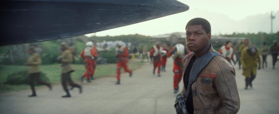 John Boyega Plays Finn