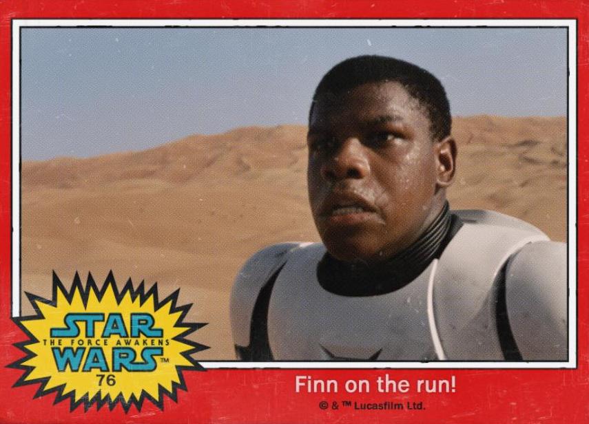 Finn Trading Card