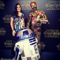 STAR WARS: THE FORCE AWAKENS Press Event (Out of this world AWESOME!) #STARWARSEVENT