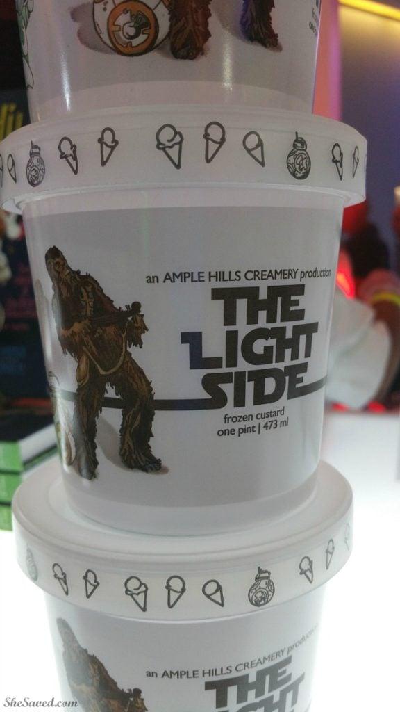 Star Wars The Light Side Ice Cream