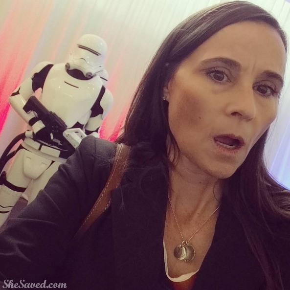 Star Wars Trooper Sighting