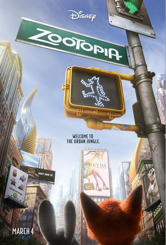 Zootopia-Poster