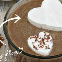 Frozen Whipped Cream Hearts