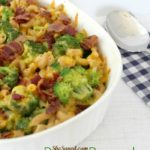 Homemade Bacon Broccoli Mac and Cheese Recipe