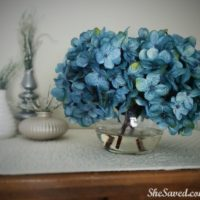 Home Decor Project: Easy DIY Floral Arrangement