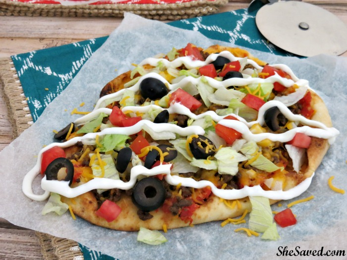 These easy flatbread pizzas are so easy to make and they make a great family meal because each person can design their own!