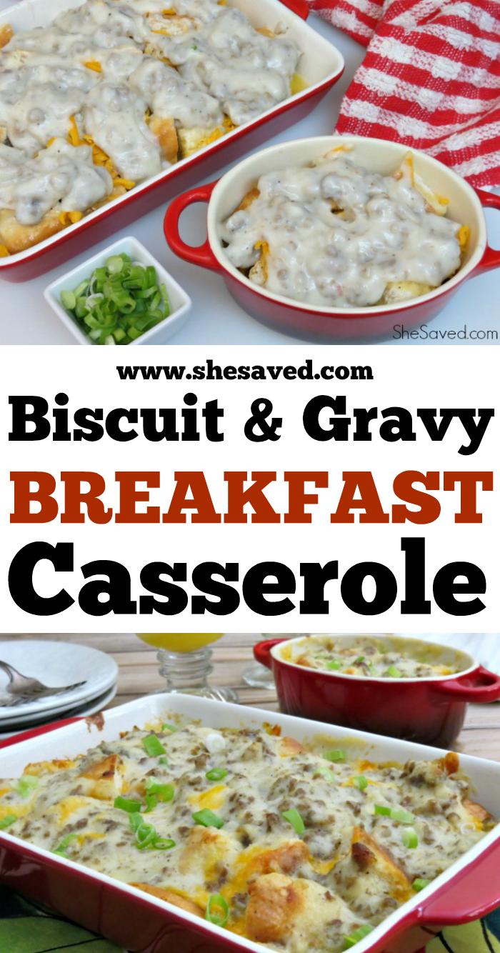 Gravy Breakfast Casserole