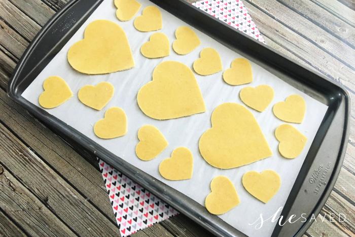 Heart Shaped Tortilla Chips Recipe