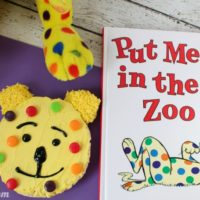 Dr. Seuss Snack: Put Me in the Zoo Rice Krispies Treats