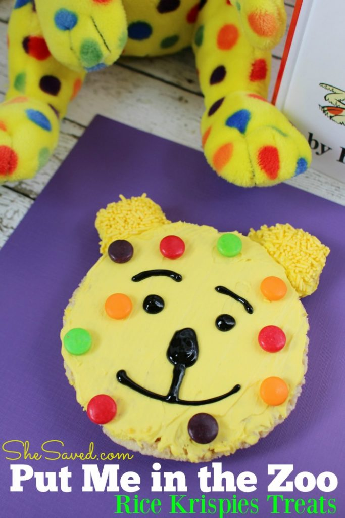 Looking for a fun treat idea to celebrate Dr. Seuss Day? These darling Put Me in the Zoo treats will be a hit!