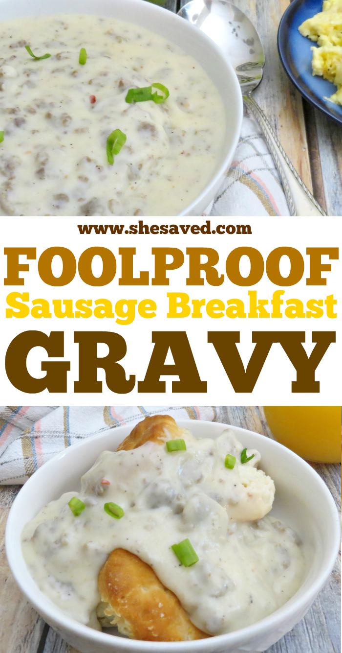 Sausage Breakfast Gravy