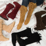 Suede Boots & Ankle Booties 40% OFF + FREE SHIPPING