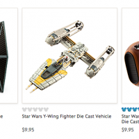 The Disney Store: FREE Shipping on ANY Order with Star Wars Item Purchase