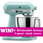 Enter to Win! KitchenAid Artisan Series 5-Qt. Stand Mixer Giveaway