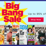 Big Bang Magazine Sale! Up to 95% off Best Selling Titles!