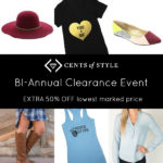 BI-ANNUAL CLEARANCE EVENT + FREE Shipping!