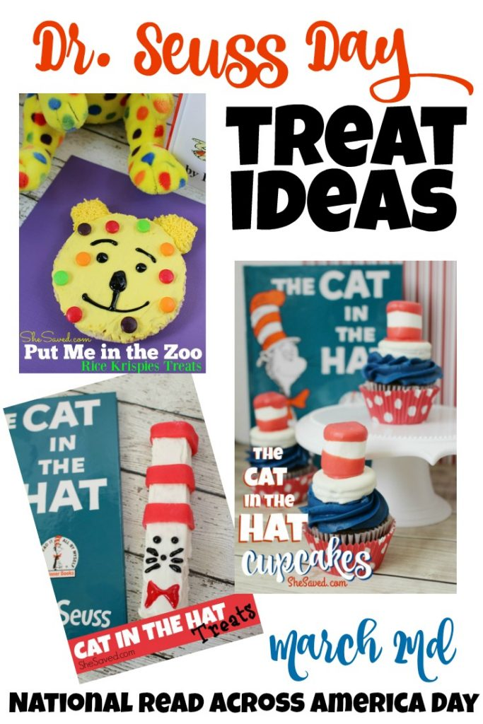 Are you looking for some fun Dr Seuss Day treat ideas? Here are three Reading Week snack ideas that are easy and fun!