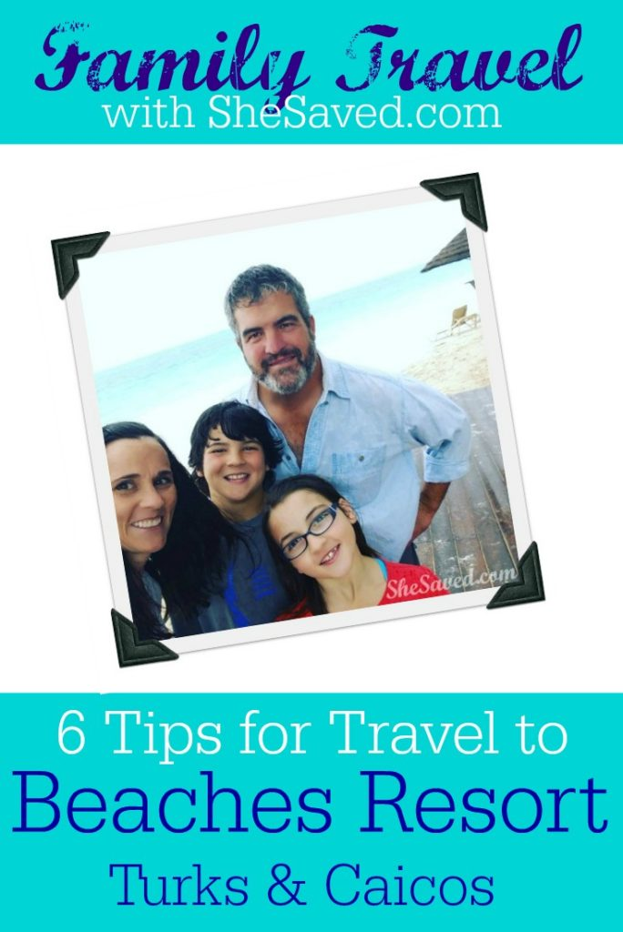 There is nothing that I love more than Family Travel so here are my top 6 tips for traveling the Beaches Turks & Caicos Resort!