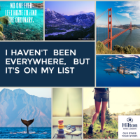 Turning Bucket List Travel Dreams into Reality #HiltonStory