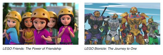 LEGO movies on netflix