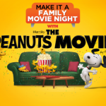 The Peanuts Movie Family Movie Night + Giveaway!