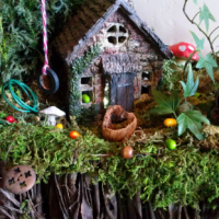 It's a Fairy Garden Easter Egg Hunt!