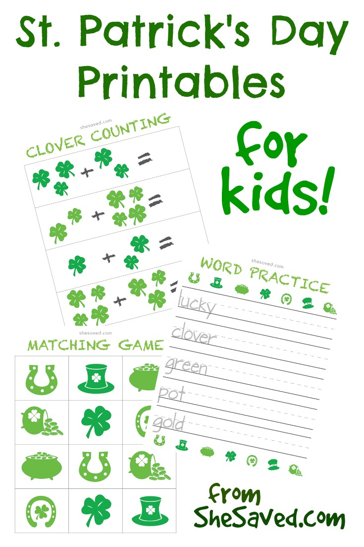 It's just an image of Canny St Patrick Day Free Printables