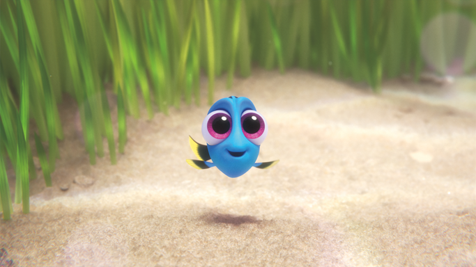 Watch this darling clip featuring baby dory before and her parents!