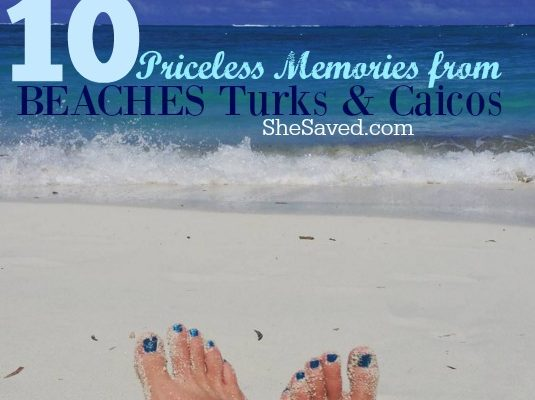 10 Priceless Memories from BEACHES Turks & Caicos