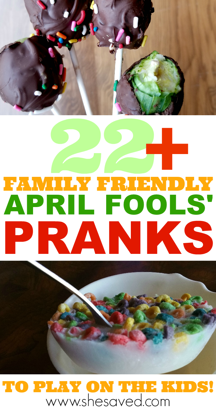 Over 22 family friendly April Fools' Day pranks to play on the kids