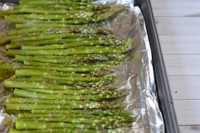 Asparagus in a Pan