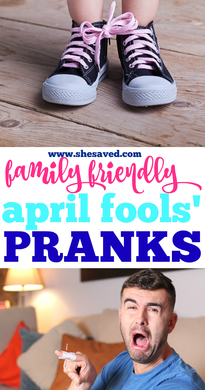 FAMILY Friendly April Fools