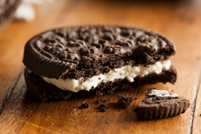 Oreo April Fools Prank idea with toothpaste