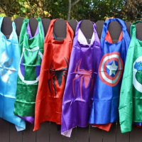 Super Hero Cape & Mask Sets for $9.99