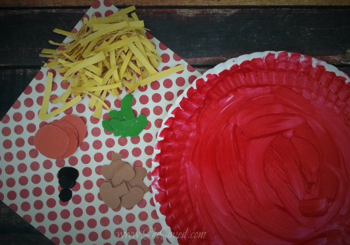 Pizza Kids Craft