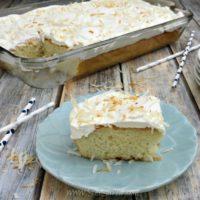 Ultra-Moist Coconut Poke Cake Recipe