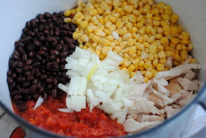 Chicken Enchilada Soup Recipe Ingredients
